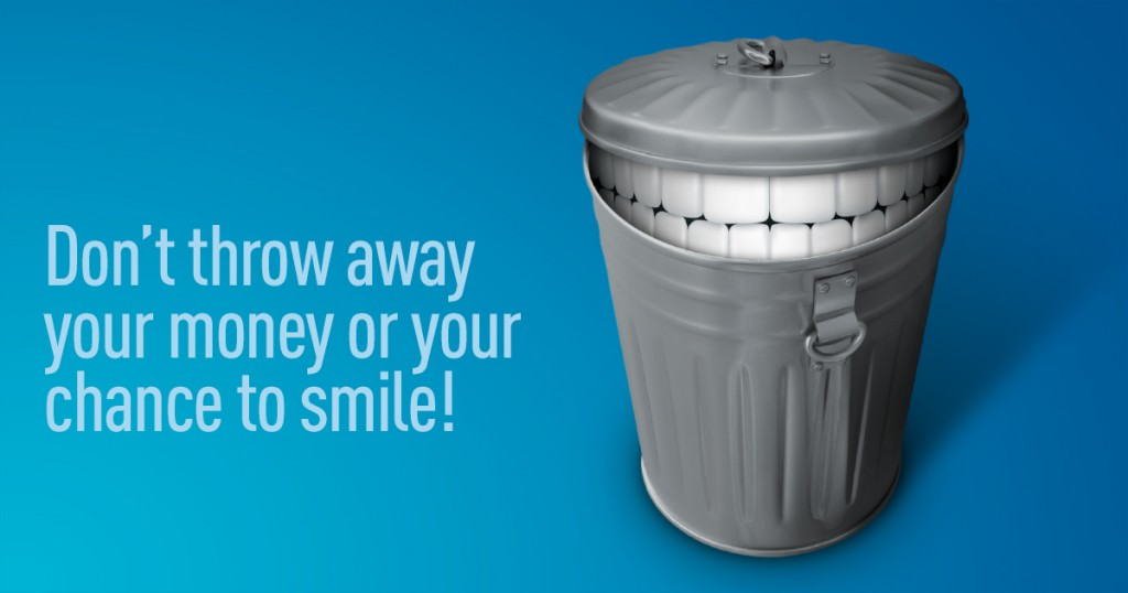 Don't loose your dental benefits